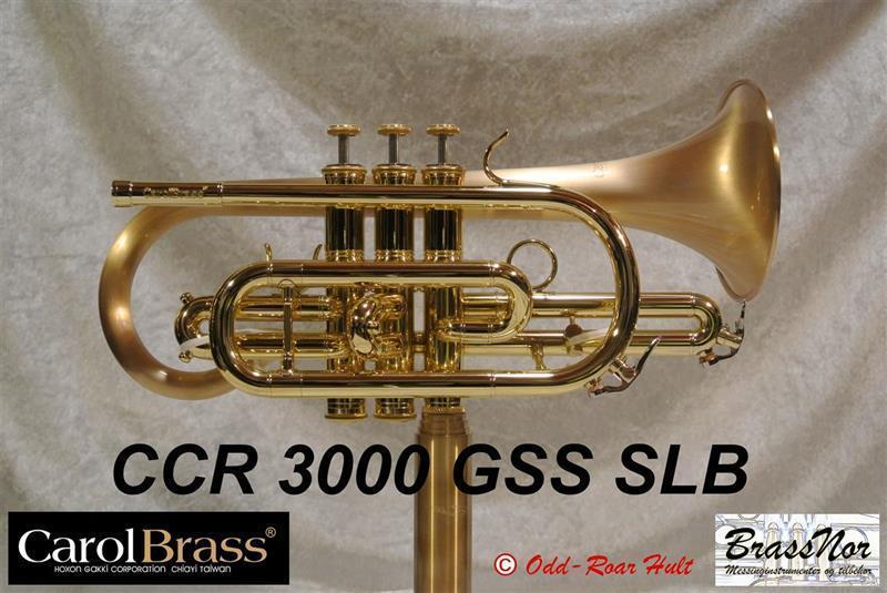 Kornett Bb Norene CCR3000GSS-SLB