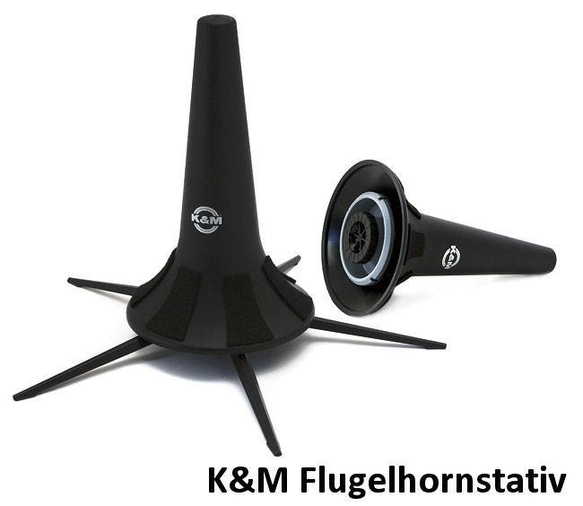 K&M Flugelhorn stativ 5 ben