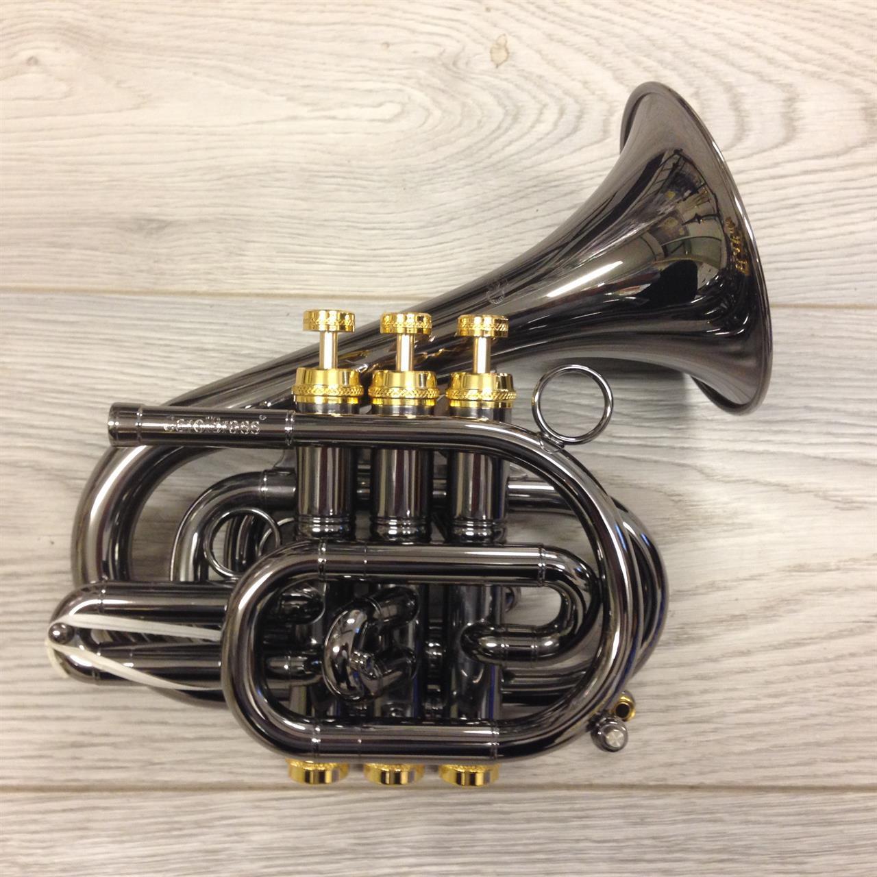 CarolBrass Dizzy pockettrompet BlackHawk