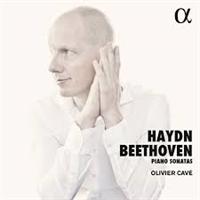 BEETHOVEN/HAYDN/OLIVIER CAVÉ: PIANO SONATAS (FG)