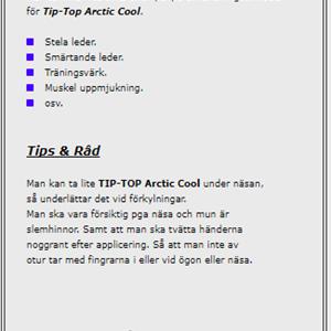 Arctic Cool 250 ml