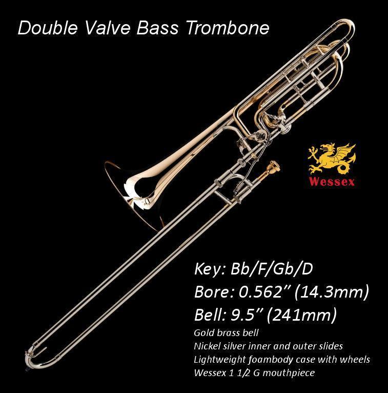 Wessex basstrombone Bb/F/Gb/D PBF-562