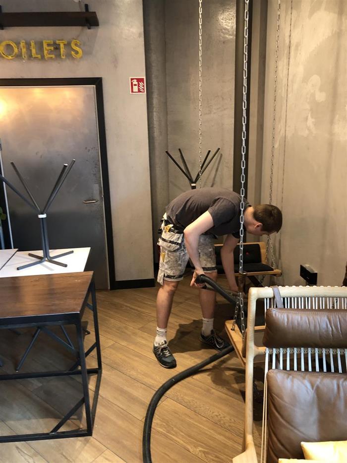 Vi utfører servicearbeider på Leon Munch Brygge