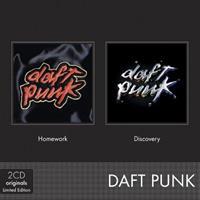 DAFT PUNK: BOXSET HOMEWORK/DISCOVERY 2CD