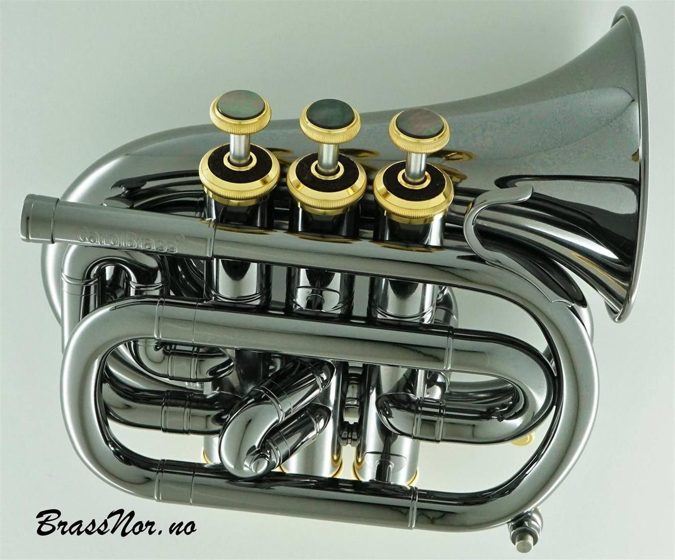 CarolBrass mini pocket trompet Bb BG