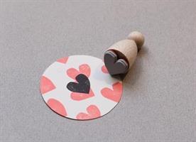 Stempel Small Hjerte Sweetheart