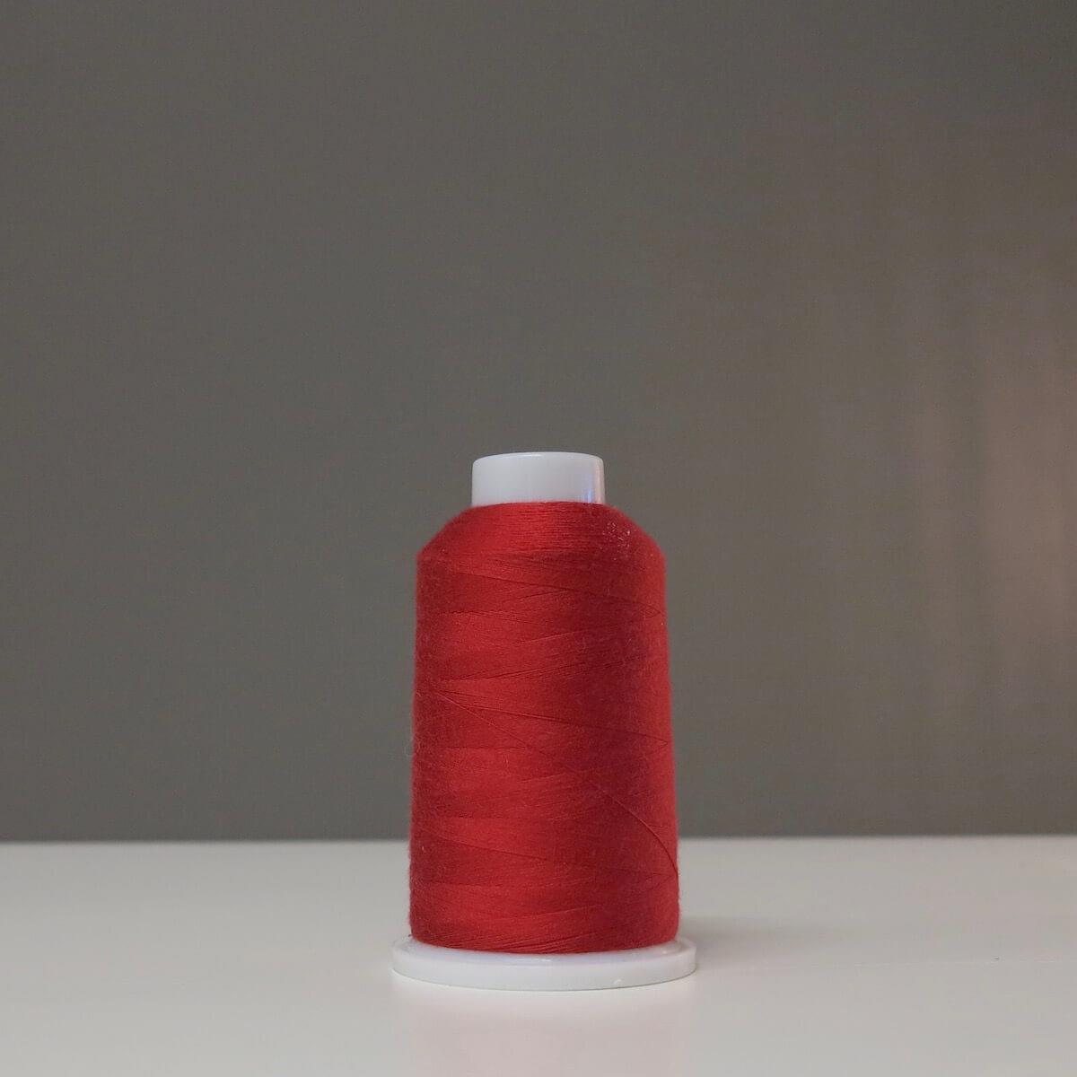 Overlocktråd Crimson Red PL176