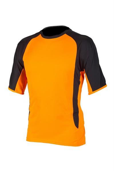 T-paita oranssimusta