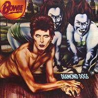 BOWIE DAVID: DIAMOND DOGS-45TH ANNIVERSARY RED LP