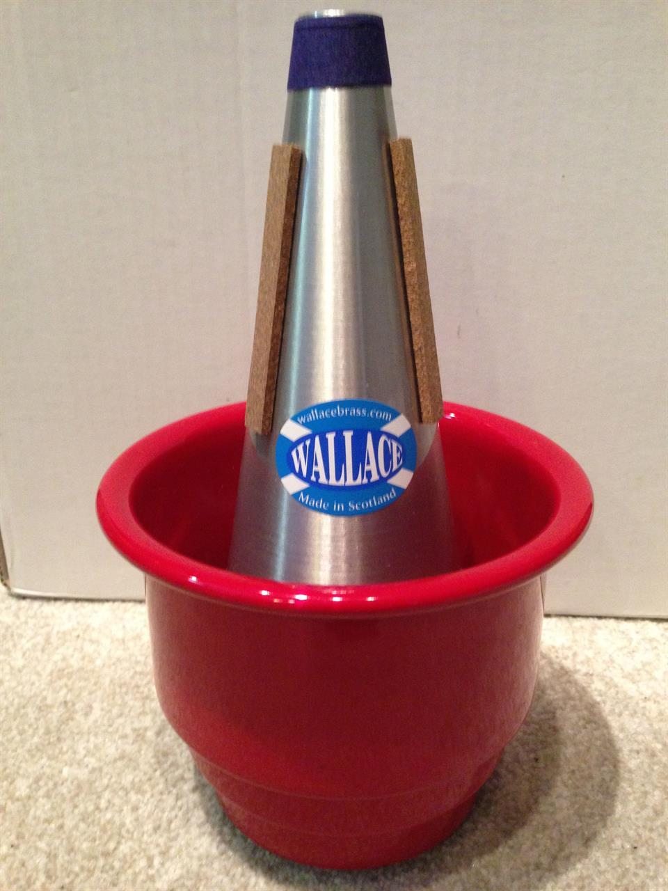 Wallace Adjustable trumpet/cornet cup mute