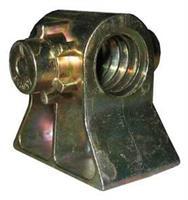 Tukijalan / nurkkatuen mutteri 19x4, korvat 15mm