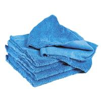 Mikrokuitu Vahaliina, sininen, reunaton - Microfiber Towel Polishing blue 40x40cm