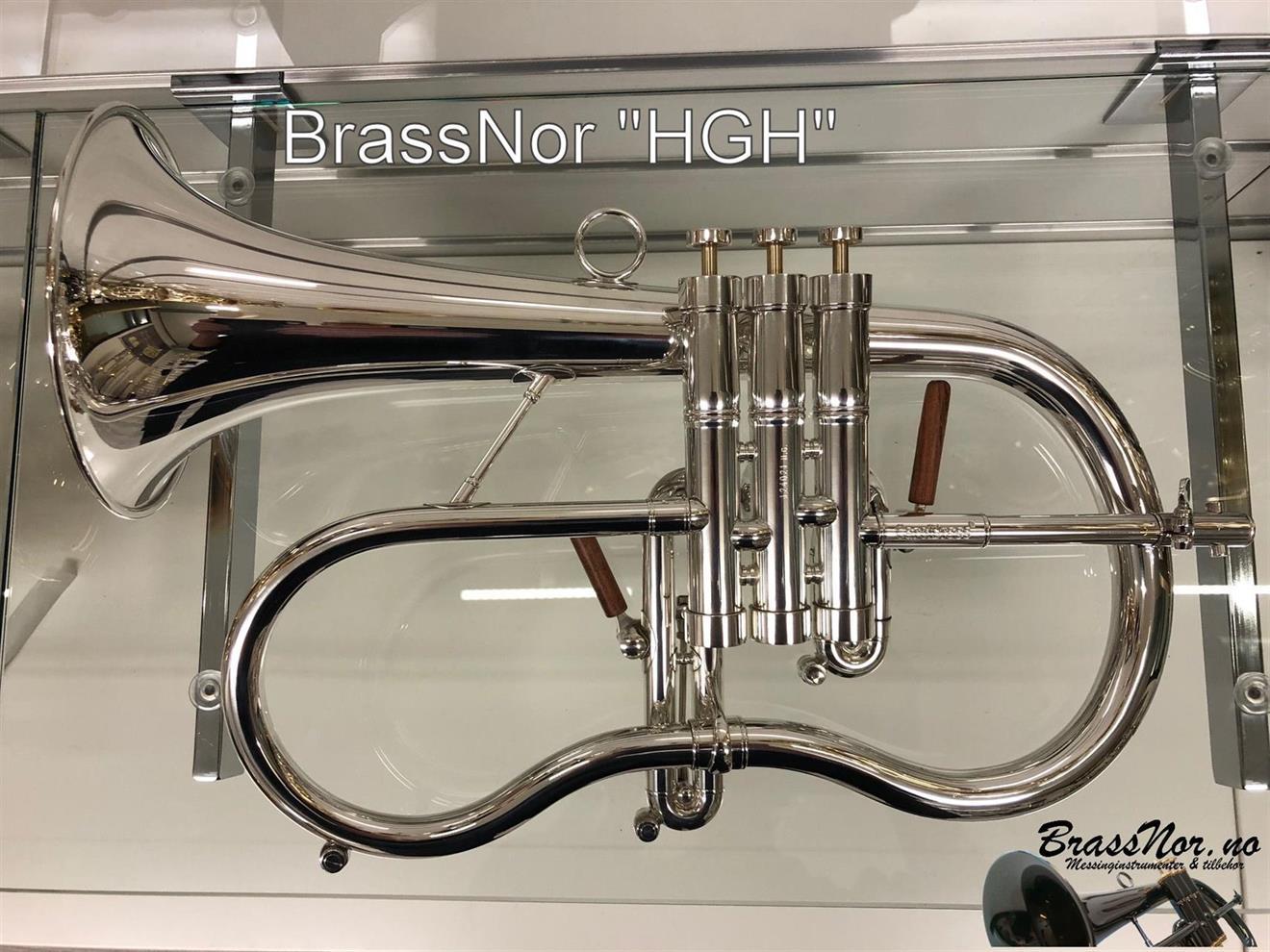BrassNor HGH flugelhorn sølv