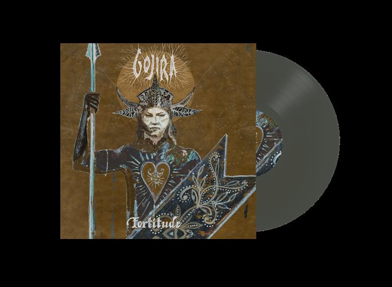 GOJIRA: FORTITUDE-BLACK ICE COLOURED LP