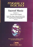 SACRED MUSIC - VOL 1 for TUBA & PIANO/ORGAN