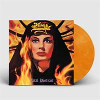 KING DIAMOND: FATAL PORTRAIT-ORANGE MARBLED LP