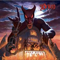 DIO: HOLY DIVER LIVE-LTD. LENTICULAR COVER 3LP