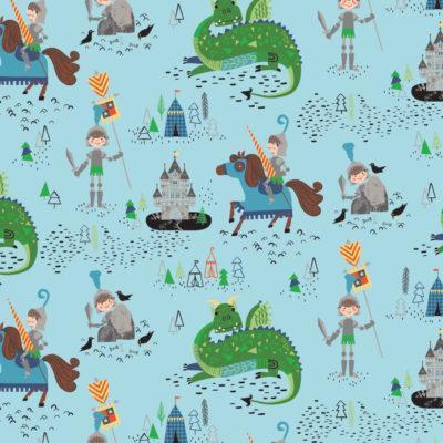 Camelot fabricss: Brave knights