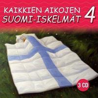 KAIKKIEN AIKOJEN SUOMI-ISKELMÄT 4 3CD