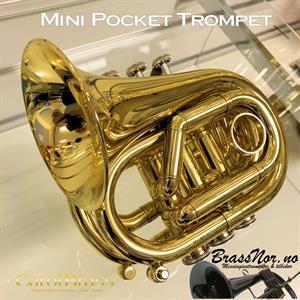 CarolBrass mini pocket trompet Bb