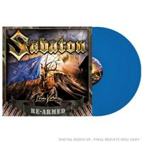 SABATON: PRIMO VICTORIA RE-ARMED-BLUE 2LP