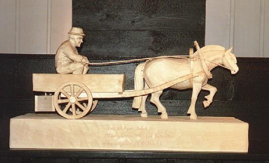 Hest og kjerre