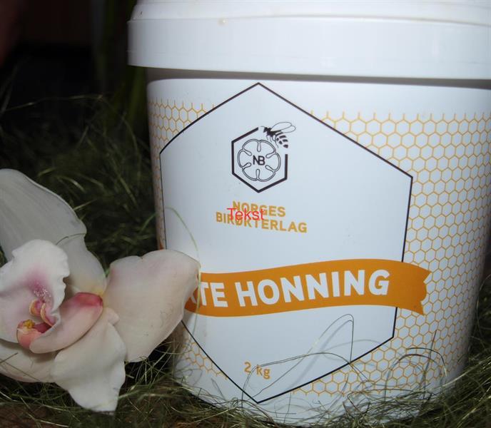 Honning 2 kg råhonning