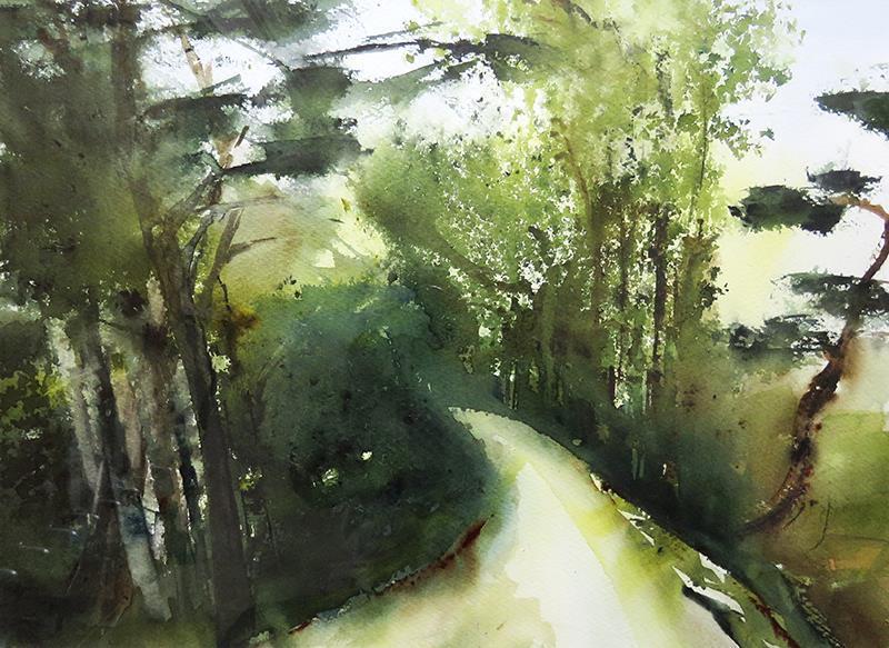 In i skogen