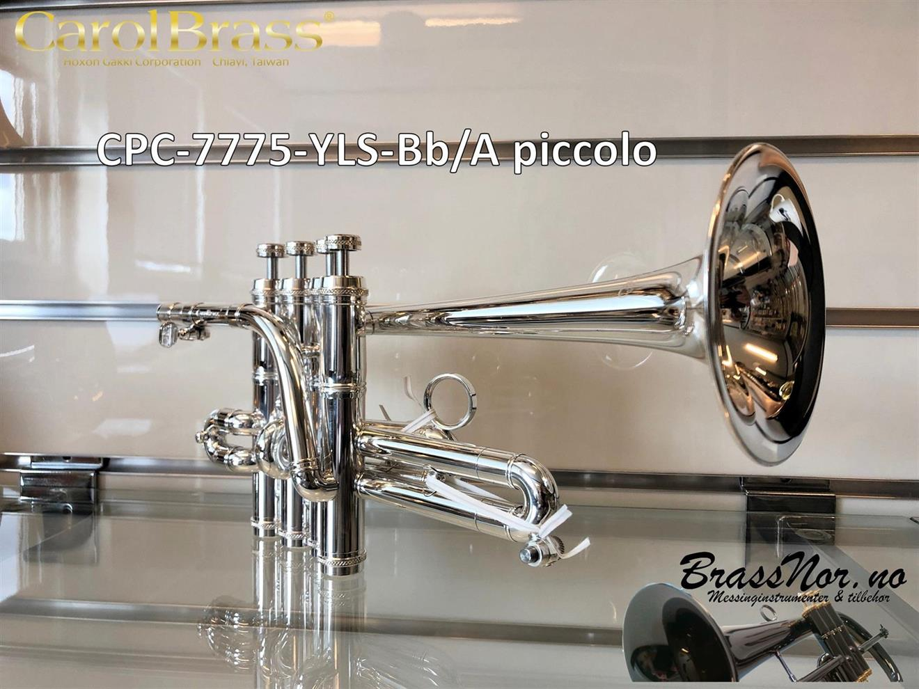 Piccolo CPC-7770-YLS 70% gul messing - sølv