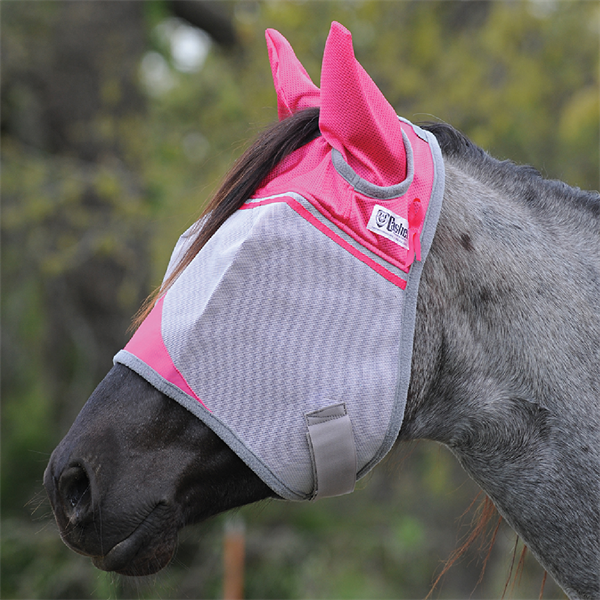 Crusader Pink FLY MASK with ears