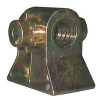 Tukijalan / nurkkatuen mutteri 16x4, korvat 15mm