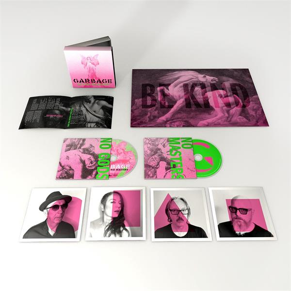 GARBAGE: NO GODS NO MASTERS-LIMITED EDITION 2CD