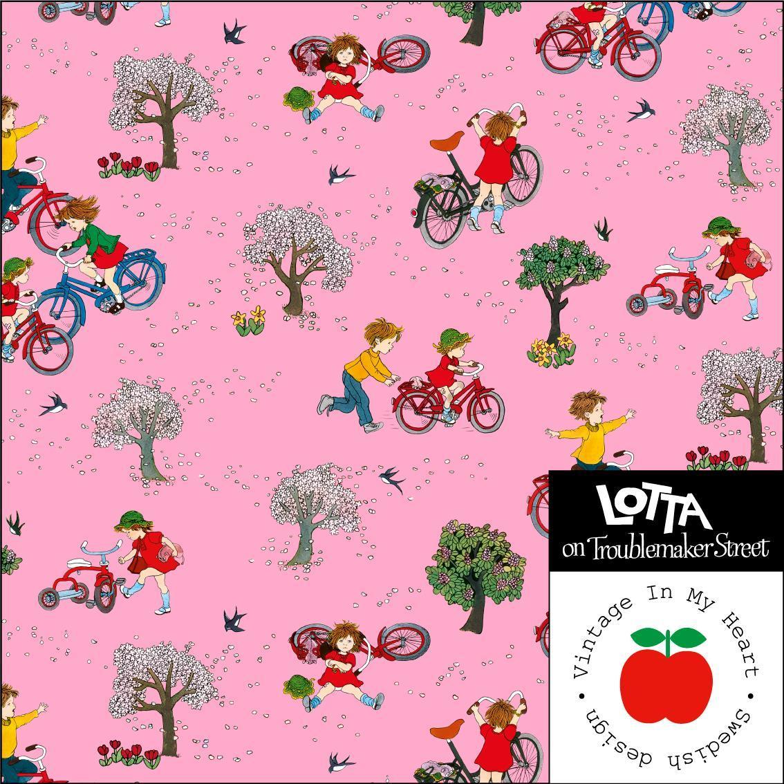 Jersey Lottas bike pink