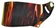 Visir CK-6 Mirror Red/Orange