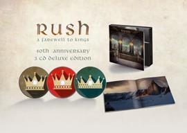 RUSH: FAREWELL TO KINGS-40TH ANNIVERSARY EDITION 3CD