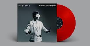 ANDERSON LAURIE: BIG SCIENCE-LTD. EDITION RED LP