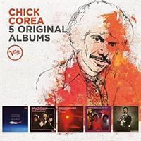 COREA CHICK: 5 ORIGINAL ALBUMS 5CD