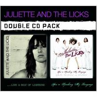 JULIETTE AND THE LICKS: BOLT OF LIGHTNING / SPEAKING MY LANGUAGE 2CD