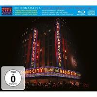 BONAMASSA: LIVE AT THE RADIO CITY MUSIC HALL CD+BLU-RAY
