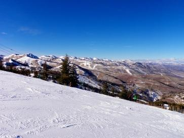 Park City, The Canyons och Deer Valley, Utah, USA