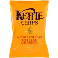Kettle Chips Cheese & Red Onion 150g