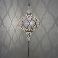 Grace Moorish Pendel - Small Silver