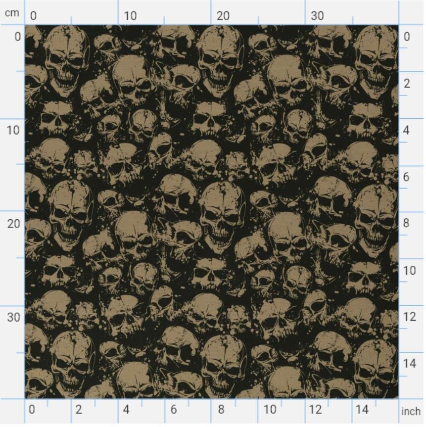 Theo jersey, big skulls
