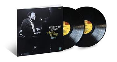 GAYE MARVIN: WHAT'S GOING ON-LIVE 2LP