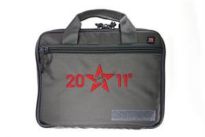 Pistolväska 2011 Soft Case, with lockable zipper