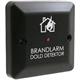 Dold detektor (svart) LED-indikering, sv-text