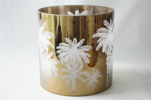 Palmtree glasslykt XL