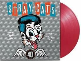 STRAY CATS: 40-LIMITED EDITION RED LP