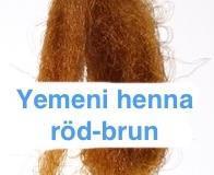 Yemeni henna, mörkt rödbrun 200 gram