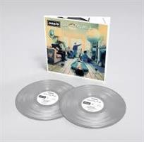 OASIS: DEFINITELY MAYBE-25TH ANNIVERSARY SILVER COLORED 2LP